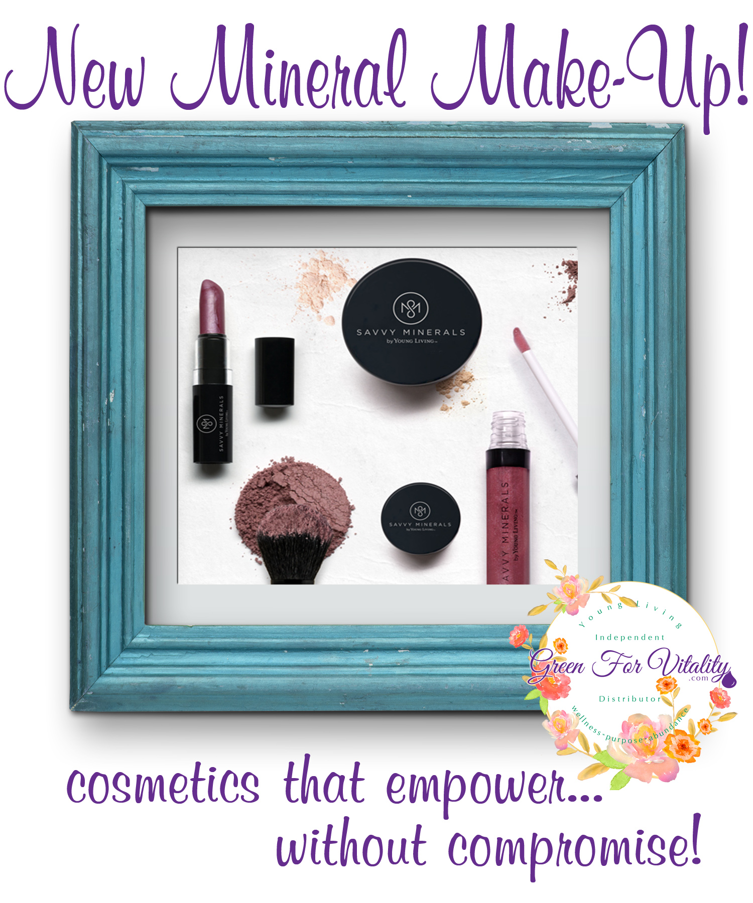 New Naural Make-Up from Young Living