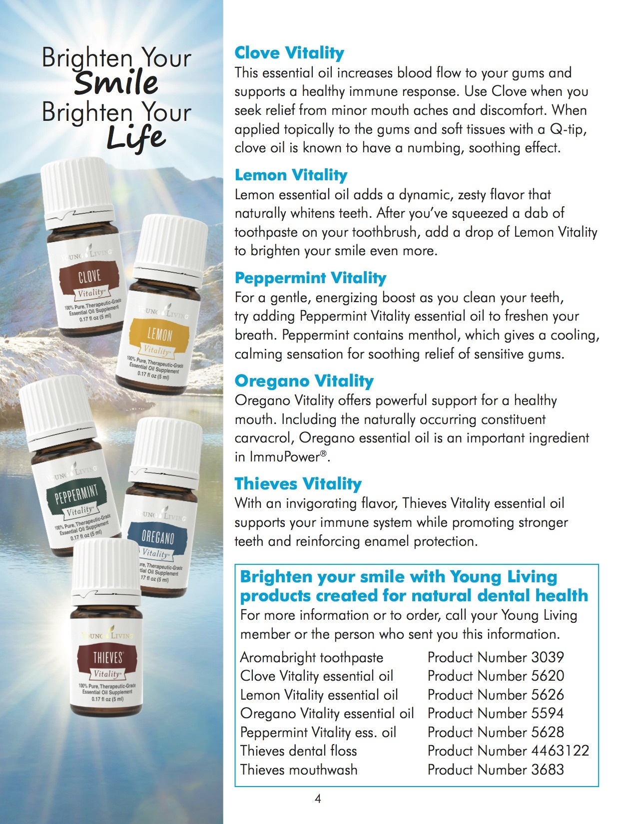 Oral Health with Young Living Essential Oils