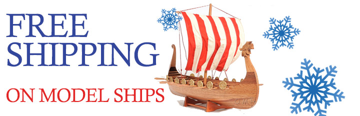 Free Shipping on Model Ships