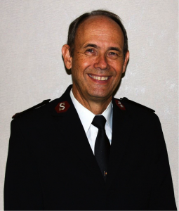 Lieutenant Colonel Ron Busroe, Community Relations and Development Secretary for The Salvation Army's National Headquarters
