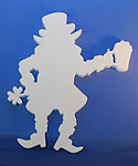 LEPRECHAUN (18in x 1½ thick) QTY2