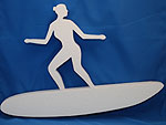 SURFER FEMALE (12in x 1½ thick) QTY2