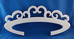 VICTORIAN TIARA (18in x 1½ thick) QTY2