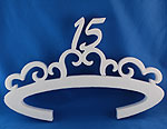 VICTORIAN TIARA 15 (18in x 1½ thick) QTY2