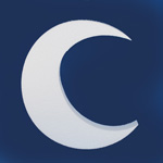 CRESCENT MOON (12in x 1½ thick) QTY2