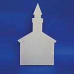 CHURCH B (12in x 1½ thick) QTY2