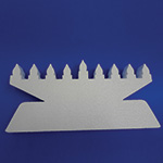 MENORAH A (18in x 1½ thick) QTY2