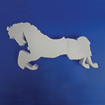 CAROUSEL HORSE WITHOUT POLE A (36in x 2 thick) QTY1