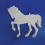CAROUSEL HORSE WITHOUT POLE B (36in x 2 thick) QTY1