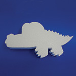 BABY ALLIGATOR (12in x 1½ thick) QTY2