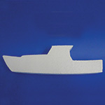 BOAT C (12in) QTY 3 (12in x 1½ thick) QTY2
