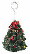 CHRISTMAS TREE BALLOON WEIGHTS  QTY 6