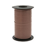 CHOCOLATE - CURLING RIBBON 3/16 INCH (3/16 IN X 500 YDS CURL)  QTY 1