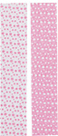 REVERSIBLE DOTS PINK - PRINTED CURLING RIBBON (3/8 IN X 250 YDS)  QTY 1