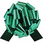 GREEN METALLIC PULL BOWS - PFG-9 5½ IN X 20 LOOPS QTY 50