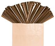 BROWN METALLIC SHEETS (18IN X 30IN) QTY 50