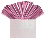 LIGHT PINK METALLIC - 18 IN x 30 IN SHEETS (18 IN x 30 IN) QTY 50