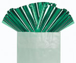 GREEN METALLIC - 18 IN x 30 IN METALLIC SHEETS (18 IN x 30 IN) QTY 50