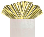 GOLD METALLIC - 18 IN x 30 IN METALLIC SHEETS (18 IN x 30 IN) QTY 50