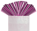 FUSCHIA METALLIC - 18 IN x 30 IN METALLIC SHEETS (18 IN x 30 IN) QTY 50