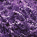 LAVENDER CRINKLE CUT PAPER - (10 lbs)  QTY 1