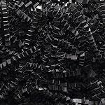 BLACK CRINKLE CUT PAPER - (10 lbs)  QTY 1