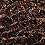 CHOCOLATE CRINKLE CUT PAPER (10 lbs)  QTY 1