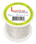 Clear Loopline Roll 25lb Strength (328FT) QTY 1