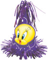 CONE BALLOON WT TWEETY - BALLOON WEIGHTS (6 OZ)  QTY 12