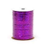 PURPLE HOLOGRAPHIC (3/16 IN X 100 YDS)  QTY 1