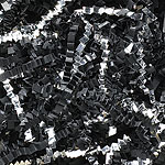 BLACK - SILVER BLEND SHRED (10 lbs)  QTY 1