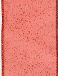 RED SHEER GLITZ (1-3/8 IN X 50 YDS)  QTY 1