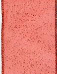 RED SHEER GLITZ (1-3/8 IN X 50 YDS)  QTY 1