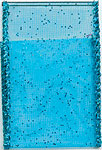TURQUOISE SHEER GLITZ (1-3/8 IN X 50 YDS)  QTY 1