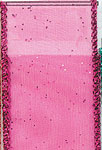 FUCHSIA SHEER GLITZ (1-3/8 IN X 50 YDS)  QTY 1