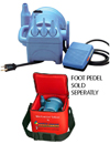 MINI COOL AIR INFLATOR LT. BLUE QTY 1
