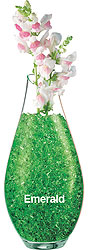 CRYSTAL ACCENTS EMERALD (1 LBS)