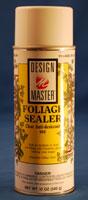 FOLIAGE SEALER 12oz - DESIGN MASTER SPRAY PAINT (12 OZ)  QTY 4