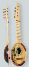 COCONUT UKELELE (17 IN)  QTY 6
