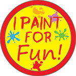I PANT FOR FUN ! BUTTON (3.5IN ) QTY 1