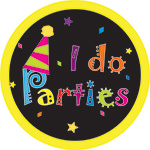 I DO PARTIES BUTTON (3.5IN ) QTY 1