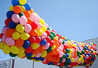 BALLOON DROP 14ftX50ft 14ftX50ft QTY 1