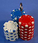 POKER BALLOON WEIGHT (6 oz) QTY 6