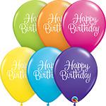Happy Birthday Classy Script (11INCH) QTY 50