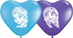 Frozen Heart Assortment Ana & Elsa (6INCH) QTY 100