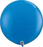 DARK BLUE Standard -11 INCH SOLID ROUNDS QTY 100