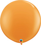 ORANGE Standard -  11 INCH SOLID ROUNDS QTY 100