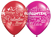SWEET VALENTINES MESSAGE ASST. (11in.) QTY 50