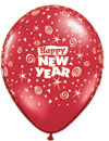 HAPPY NEW YEAR (11 INCH)  QTY 100