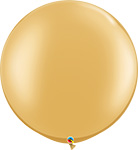 GOLD METALLIC  -30 INCH COLOR ROUNDS QTY 2